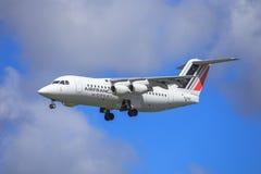 Air France por Cityjet Avro RJ85 Imagens de Stock Royalty Free