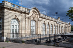 Air France que constrói Paris França Fotos de Stock