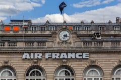 Air France que constrói Paris França Imagens de Stock Royalty Free