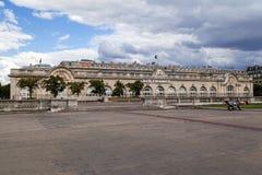 Air France som bygger Paris Frankrike Fotografering för Bildbyråer