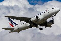 Air France spiana Fotografie Stock