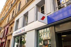 Air France travel office Royalty Free Stock Photography