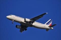 Air France-vliegtuig Stock Fotografie