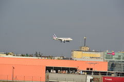 Air France-vliegtuig Royalty-vrije Stock Afbeelding