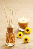 Air freshener. Bottle of air freshener - beauty treatment stock images