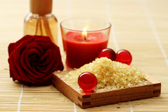 Air freshener. Bottle of air freshener - beauty treatment royalty free stock image