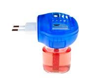 Air freshener. Automatic air freshener isolated on white royalty free stock images
