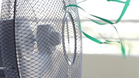 Air freshener fan cools room on a hot day. Air freshener fan cools the room on a hot day stock footage