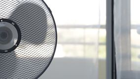 Air freshener fan cools room on a hot day. Air freshener fan cools the room on a hot day stock video footage