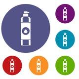 Air freshener icons set Stock Image