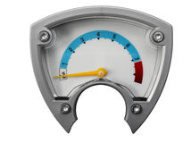 Air gauge Royalty Free Stock Images
