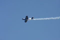 Air Guard Stunt Plane Royalty Free Stock Photos