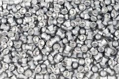 Air gun bullets. Lot of Air gun bullets royalty free stock images