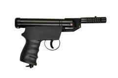 Air gun pistal. Hand air gun pistal with white background Royalty Free Stock Photos