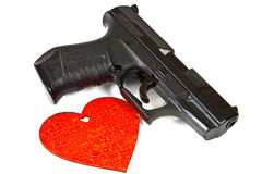 Air gun pistol Stock Photo