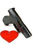 Air gun pistol Stock Image