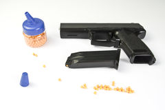 Air gun set Stock Image