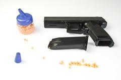Air gun set Stock Image