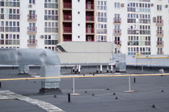Air Handling Unit rooftop for the central ventilation system Royalty Free Stock Images