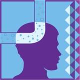 Air head. Vector illustration clip-art eps Royalty Free Stock Image