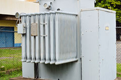Air heat exchanger Stock Image