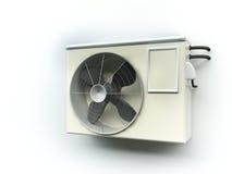 Air heat pump stock illustration