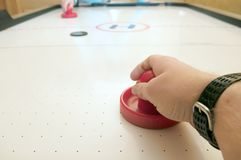 Air Hockey Royalty Free Stock Photo