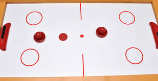 Air Hockey Stock Image