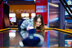 Free Air Hockey Table Royalty Free Stock Images - 91630129