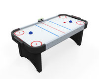 Air Hockey Table Isolated Stock Photography