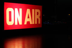 On-Air Horizontal Stock Photo