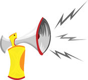 Air Horn Cartoon Royalty Free Stock Photos