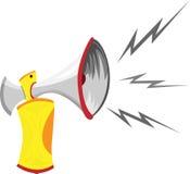 Air Horn Cartoon Royalty Free Stock Photos
