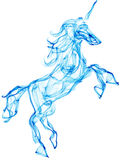 Air horse illustration Royalty Free Stock Photos
