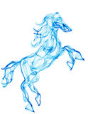Air horse illustrtaion Stock Photos