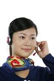 Air hostess Stock Image