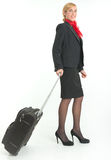 Air hostess Royalty Free Stock Image