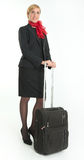 Air hostess Royalty Free Stock Photography
