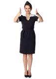 Air hostess in uniform Royalty Free Stock Photo