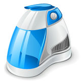 Air humidifier. Vector illustration of air humidifier on white background Royalty Free Stock Images