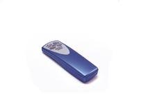Air-humidifier's remote control. Blue remote control for the air-humidifier Stock Image