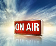 On air icon Stock Images