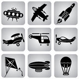Air icons Royalty Free Stock Photos