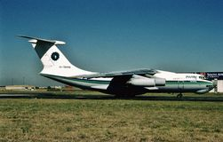 Air Ilyushin IL-7dTD EK-76446 de Dvin Photo stock