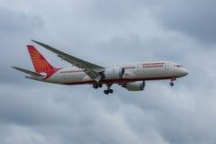 Air India acepilla Fotos de archivo libres de regalías
