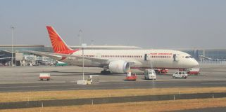 Air India Aircraft Royalty Free Stock Photography