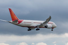 Air India aplana Fotografia de Stock Royalty Free