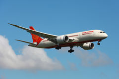 Air India Boeing 787 Dreamliner Obrazy Stock