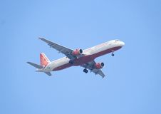 Air India-Flugzeuge Lizenzfreie Stockfotos