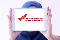 Air India logo Royaltyfri Fotografi
